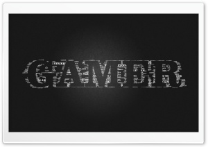 Gamer Black HD HD Wide Wallpaper for Widescreen