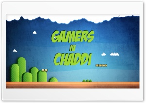 Gamers In Chaddi  Youtube Ultra HD Wallpaper for 4K UHD Widescreen desktop, tablet & smartphone