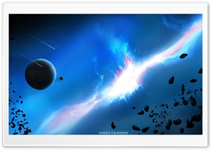 Gamma Burst HD Wide Wallpaper for Widescreen