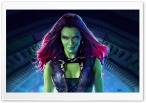Gamora - Guardians Of The Galaxy 2014 Movie HD Wide Wallpaper for 4K UHD Widescreen desktop & smartphone