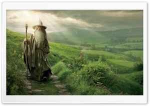 Gandalf The Grey HD Wide Wallpaper for Widescreen