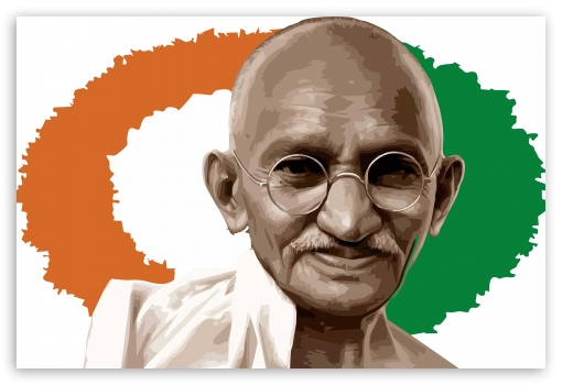Download Gandhi Ji HD Wallpaper