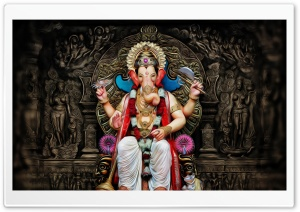 Ganesha Ultra HD Wallpaper for 4K UHD Widescreen desktop, tablet & smartphone
