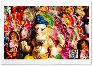 Ganesha HD Wide Wallpaper for 4K UHD Widescreen desktop & smartphone