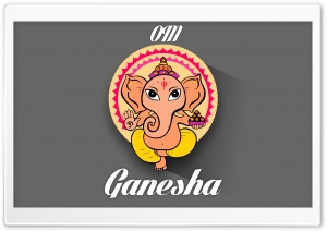Ganesha HD Wide Wallpaper for Widescreen