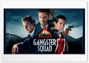 Gangster Squad HD Wide Wallpaper for Widescreen