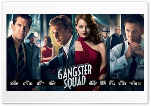 Gangster Squad (2013) HD Wide Wallpaper for Widescreen