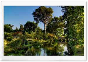 Garden Of Ninfa HD Wide Wallpaper for Widescreen