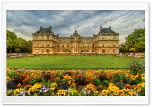 Gardens In Paris HD Wide Wallpaper for Widescreen