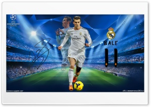 Gareth Bale Champions League HD Wide Wallpaper for Widescreen
