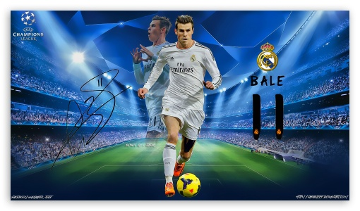Gareth Bale Champions League ❤ 4K UHD Wallpaper for 4K UHD 16:9 Ultra High Definition 2160p 1440p 1080p 900p 720p ;