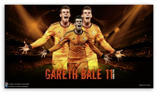 Gareth Bale Real Madrid HD wallpaper for HD 16:9 High Definition WQHD QWXGA 1080p 900p 720p QHD nHD ; Tablet 1:1 ; Mobile 16:9 - WQHD QWXGA 1080p 900p 720p QHD nHD ;