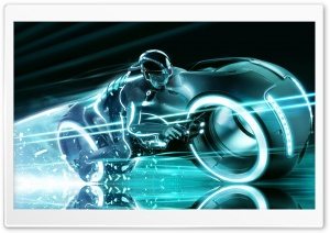 Garrett Hedlund as Sam Flynn, Tron Legacy HD Wide Wallpaper for Widescreen
