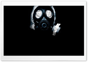 Gas Mask HD Wide Wallpaper for 4K UHD Widescreen desktop & smartphone