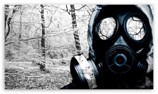 Download Gas Mask HD Wallpaper