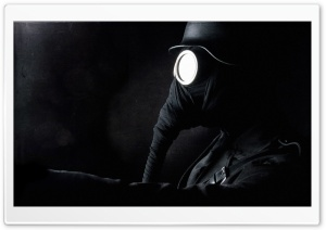 Gas Mask HD Wide Wallpaper for Widescreen