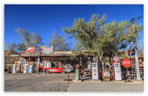 Gas Station, Route 66, Arizona ❤ 4K UHD Wallpaper for Wide 16:10 5:3 Widescreen WHXGA WQXGA WUXGA WXGA WGA ; UltraWide 21:9 24:10 ; 4K UHD 16:9 Ultra High Definition 2160p 1440p 1080p 900p 720p ; UHD 16:9 2160p 1440p 1080p 900p 720p ; Standard 4:3 5:4 3:2 Fullscreen UXGA XGA SVGA QSXGA SXGA DVGA HVGA HQVGA ( Apple PowerBook G4 iPhone 4 3G 3GS iPod Touch ) ; Tablet 1:1 ; iPad 1/2/Mini ; Mobile 4:3 5:3 3:2 16:9 5:4 - UXGA XGA SVGA WGA DVGA HVGA HQVGA ( Apple PowerBook G4 iPhone 4 3G 3GS iPod Touch ) 2160p 1440p 1080p 900p 720p QSXGA SXGA ;