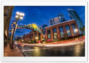 Gaslamp Quarter HD Wide Wallpaper for 4K UHD Widescreen desktop & smartphone