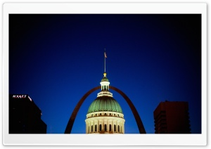 Gateway Arch, Missouri HD Wide Wallpaper for 4K UHD Widescreen desktop & smartphone