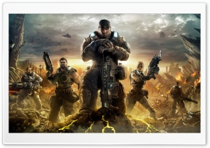 Gears Of War 3 Ultra HD Wallpaper for 4K UHD Widescreen desktop, tablet & smartphone
