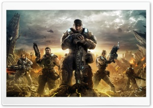 Gears of War 3 2011 HD Wide Wallpaper for 4K UHD Widescreen desktop & smartphone