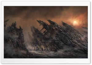 Gears Of War 3 Concept Art HD Wide Wallpaper for Widescreen