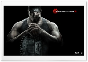 Gears Of War 3 Marcus HD Wide Wallpaper for 4K UHD Widescreen desktop & smartphone