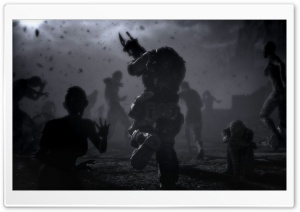 Gears Of War 3 Trailer Snapshot HD Wide Wallpaper for Widescreen