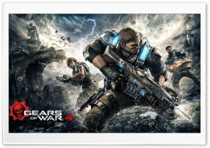 Gears Of War 4 Kait Jd Del HD Wide Wallpaper for 4K UHD Widescreen desktop & smartphone