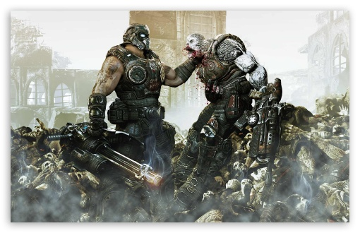Gears Of War 3 HD wallpaper for Wide 16:10 5:3 Widescreen WHXGA WQXGA WUXGA WXGA WGA ; HD 16:9 High Definition WQHD QWXGA 1080p 900p 720p QHD nHD ; Standard 4:3 5:4 3:2 Fullscreen UXGA XGA SVGA QSXGA SXGA DVGA HVGA HQVGA devices ( Apple PowerBook G4 iPhone 4 3G 3GS iPod Touch ) ; Tablet 1:1 ; iPad 1/2/Mini ; Mobile 4:3 5:3 3:2 16:9 5:4 - UXGA XGA SVGA WGA DVGA HVGA HQVGA devices ( Apple PowerBook G4 iPhone 4 3G 3GS iPod Touch ) WQHD QWXGA 1080p 900p 720p QHD nHD QSXGA SXGA ;