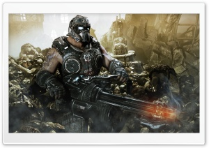 Gears Of War 3 HD Wide Wallpaper for Widescreen