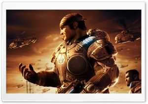 Gears Of War Game HD Wide Wallpaper for Widescreen