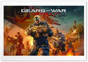 Gears of War Judgment Ultra HD Wallpaper for 4K UHD Widescreen desktop, tablet & smartphone