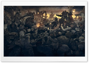 Gears Of War Soldiers Monsters HD Wide Wallpaper for Widescreen