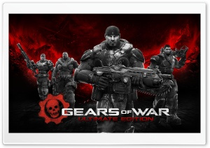Gears of War Ultimate Edition 2015 HD Wide Wallpaper for Widescreen