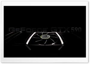 Geforce GTX 590 HD Wide Wallpaper for Widescreen