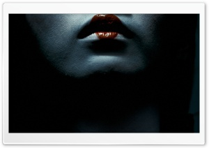 Geisha Lips HD Wide Wallpaper for Widescreen