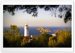 Gelidonya Lighthouse Ultra HD Wallpaper for 4K UHD Widescreen desktop, tablet & smartphone