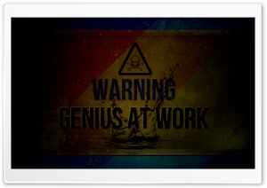 Genius HD Wide Wallpaper for Widescreen
