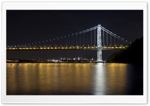 George Washington Bridge HD Wide Wallpaper for Widescreen