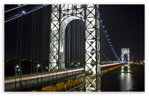George Washington Bridge at Night ❤ 4K UHD Wallpaper for Wide 16:10 5:3 Widescreen WHXGA WQXGA WUXGA WXGA WGA ; 4K UHD 16:9 Ultra High Definition 2160p 1440p 1080p 900p 720p ; UHD 16:9 2160p 1440p 1080p 900p 720p ; Standard 4:3 5:4 3:2 Fullscreen UXGA XGA SVGA QSXGA SXGA DVGA HVGA HQVGA ( Apple PowerBook G4 iPhone 4 3G 3GS iPod Touch ) ; Tablet 1:1 ; iPad 1/2/Mini ; Mobile 4:3 5:3 3:2 16:9 5:4 - UXGA XGA SVGA WGA DVGA HVGA HQVGA ( Apple PowerBook G4 iPhone 4 3G 3GS iPod Touch ) 2160p 1440p 1080p 900p 720p QSXGA SXGA ;