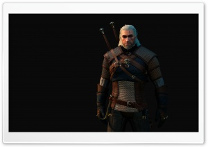 Geralt of Rivia HD Wide Wallpaper for Widescreen