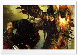 Geralt Of Rivia, The Witcher 2 HD Wide Wallpaper for Widescreen