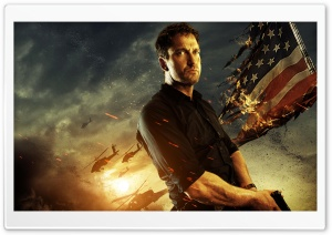 Gerard Butler In Olympus Has Fallen HD Wide Wallpaper for Widescreen