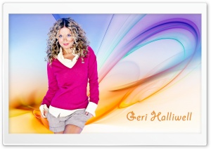 Geri Halliwell HD Wide Wallpaper for Widescreen