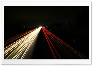 German Autobahn HD Wide Wallpaper for Widescreen