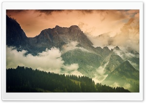 German Bavarian Alps...