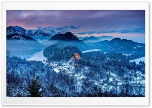 Germany Southern Bavaria Castle HD Wide Wallpaper for Widescreen