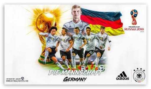 ワールドカップ・ロシア大会用のドイツのエンブレム