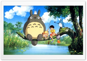 Ghibli My Neighbor HD Wide Wallpaper for Widescreen